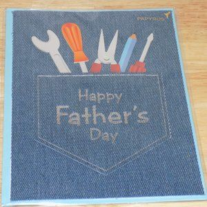 Papyrus Happy Father's Day Card with Tools
